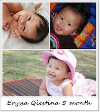 Eryssa Qiestina 5 month