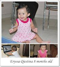 eryssa qiestina 8 months