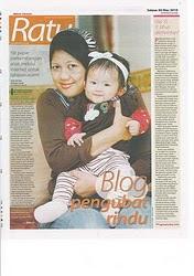 qiestina & mama in Media