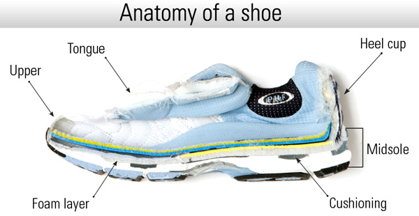 Latest Modern Shoes Five Factors The Affect You Choice In Running Shoes