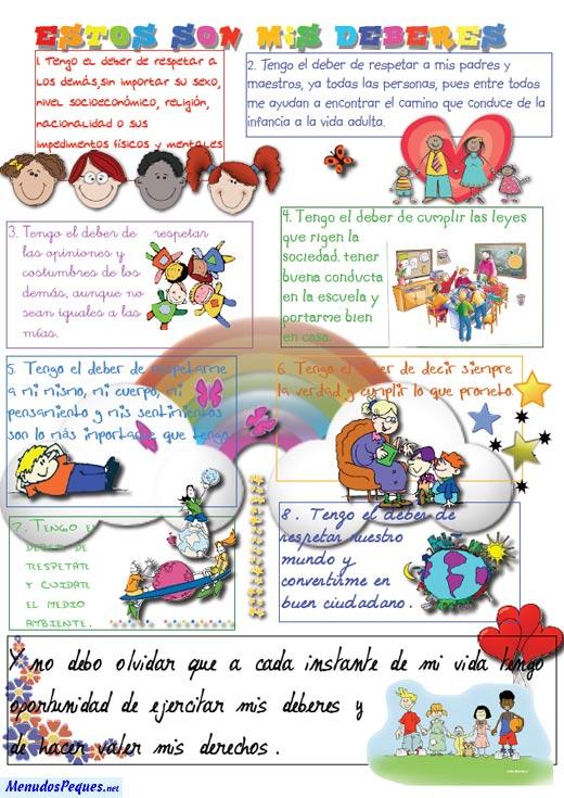 EL QUINTO NIVEL: Los Derechos y Deberes del Niño y la Niña
