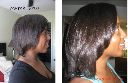 six twenty seven brazilian blowout results on natural