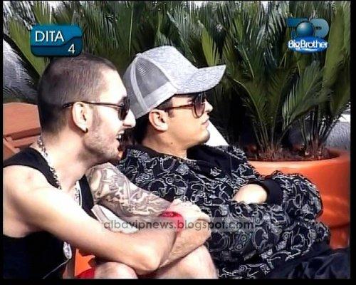Agon Radoniqi and Arjon Muca Big Brother Albania