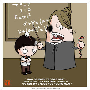 guru yang galak tapi ada juga guru yang baik hati