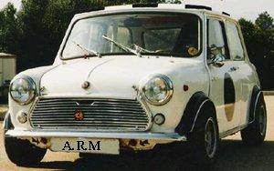 Mini mkII  del 69 transformado a 1300 Gr.2-Gr.5 de la época