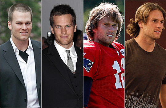 tom brady long hair pictures. Read more: Tom Brady seeing a
