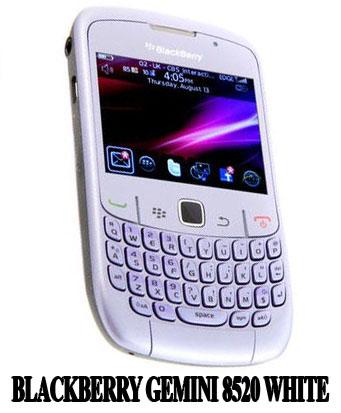 Daftar Harga Hp Blackberry Gemini White