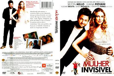 capa de DVD do filme O A Mulher Invisivel