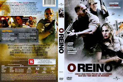 capa de DVD do filme O Reino