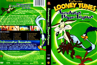 capa de DVD do filme Looney Tunes - Papa Léguas