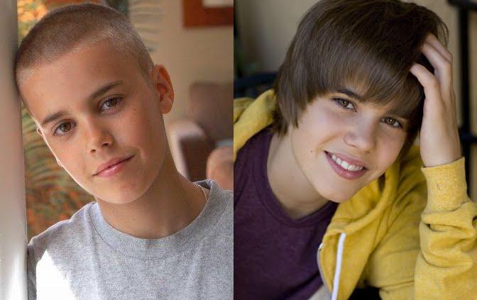 Justin Bieber careca? Minha intenção não é comprar briga com as fãs