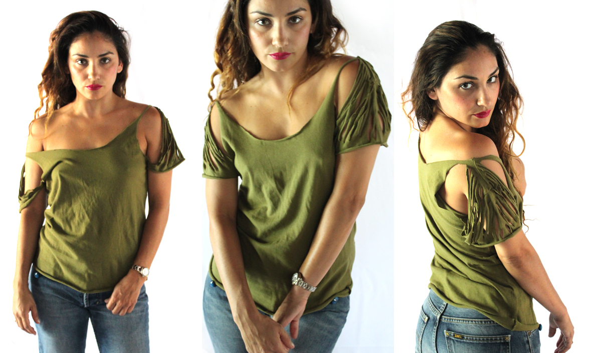 new no sew tshirt tutorial the jungalowthe jungalow