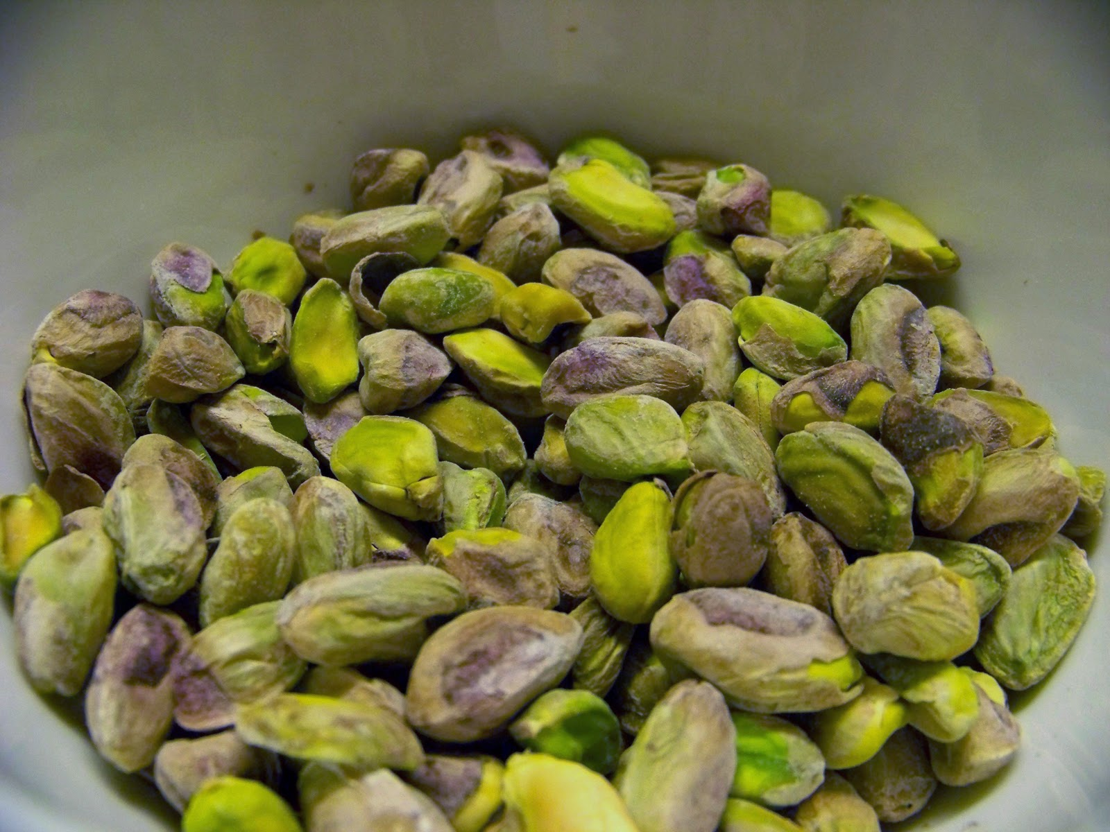 and pistachios.