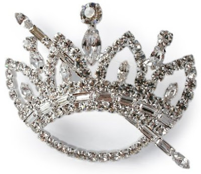 Crown and Scepter Brooch