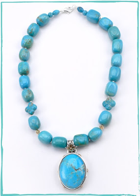 Turquoise Sorrento Pendant Necklace