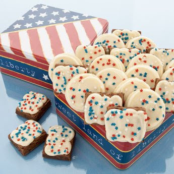 American classic tin - frosted duo