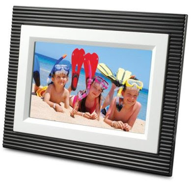 Viewsonic DPX702WD-BW Digital Photo Frame
