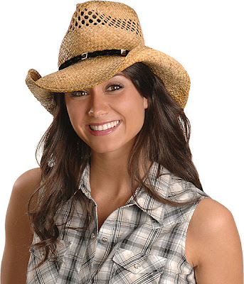 Shady Brady Twisted Suede Band Straw Cowboy Hat