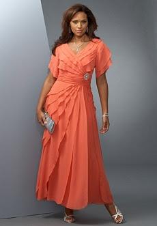 Asymmetrical Ruffle Gown