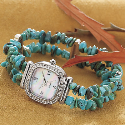 Double Strand Turquoise Watch
