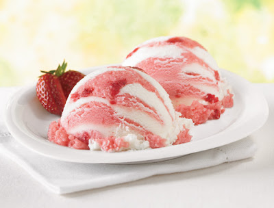 ... bean ice cream with raspberry strawberry vanilla bean swirl ice cream