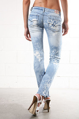 Distressed Paint Skinnys