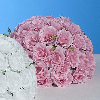 Pink Rose Bud Centerpiece