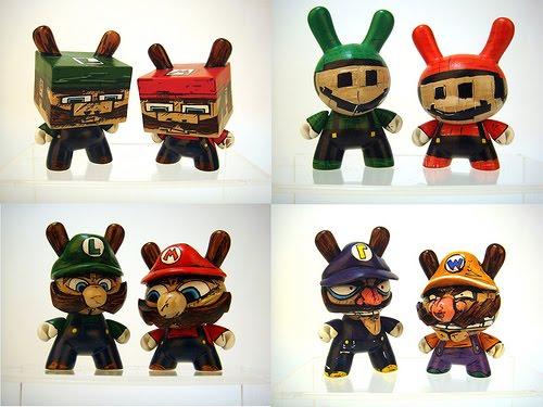 Super Punch Nintendo Custom Vinyl Toys