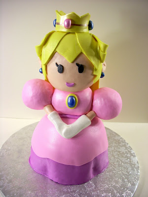 princess peach castle. toppers and Princess Peach