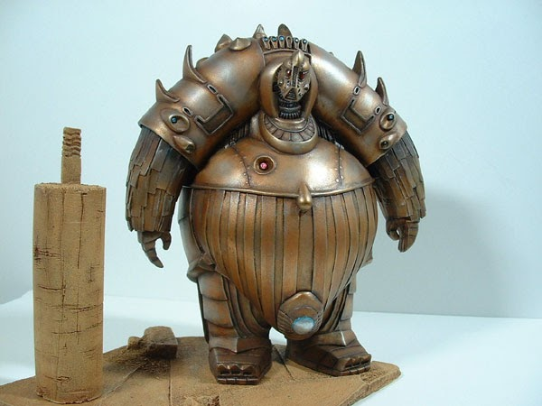 Super Punch: Sculptures by Toi Ogunyoku Jr The Fifth Element Aliens