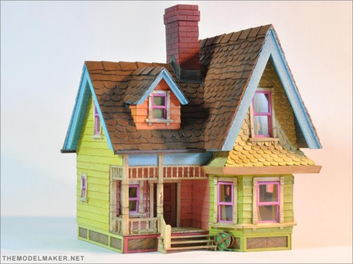 pixar up couple. pixar up house. house from
