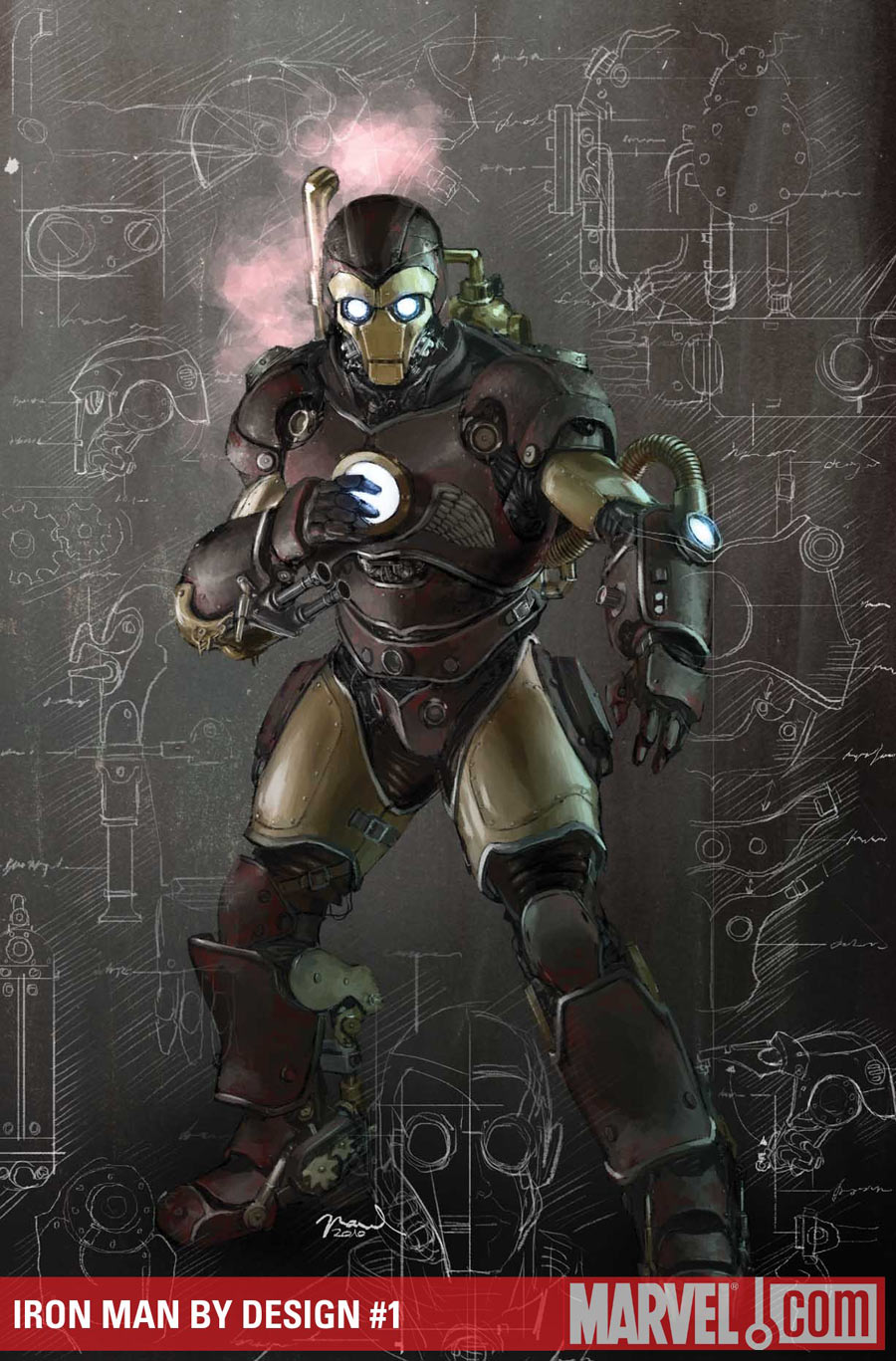 Ironman Build Steampunk
