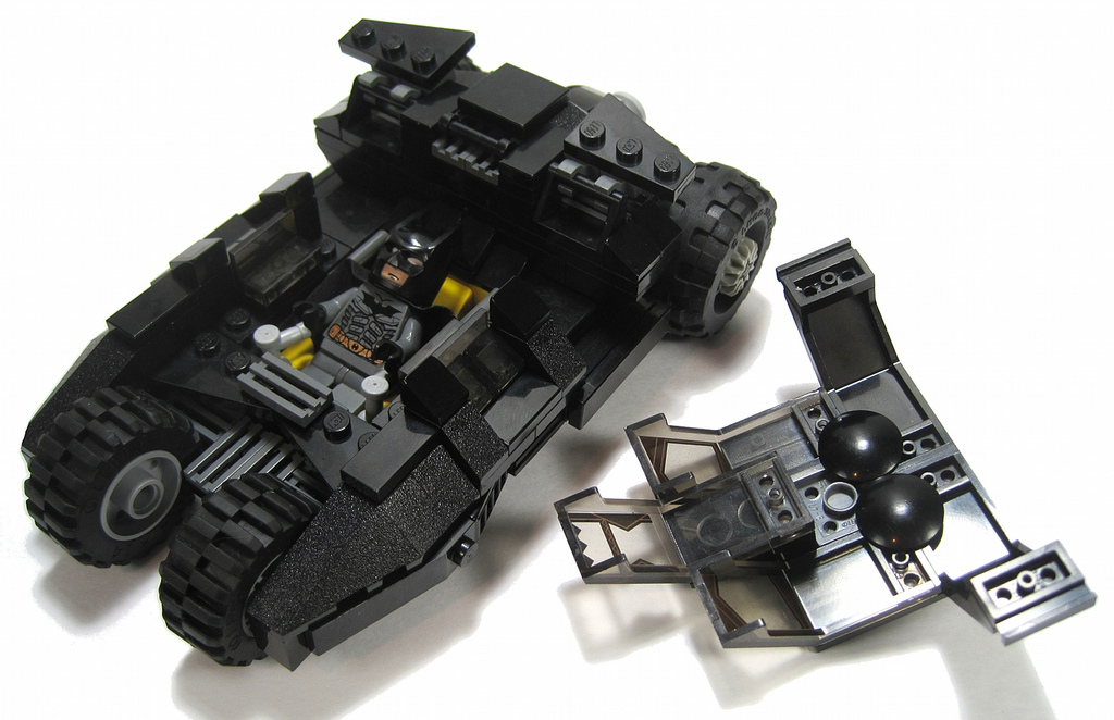 Lego Batmobile Tumbler Instructions