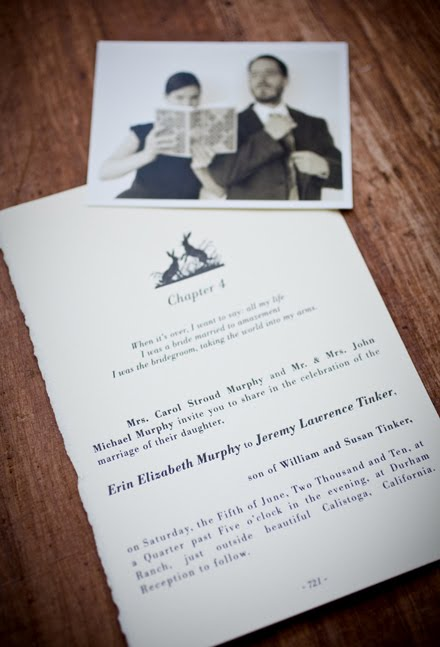 McSweenyesque wedding invitations and madlib reply cards