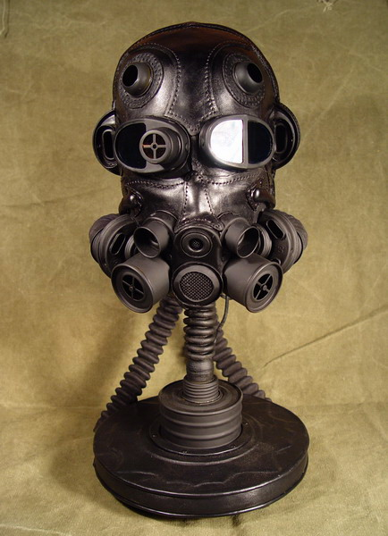 Fearsome gas mask