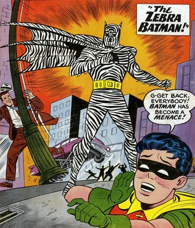Zebra Batman