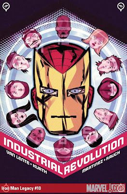 66 Iron Man Legacy 10 The 72 Best Comic Book Covers of 2011
