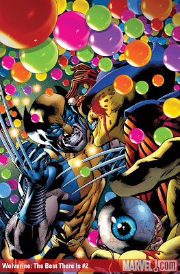 131 Wolverine  The Best There Is 2 The 72 Best Comic Book Covers of 2011