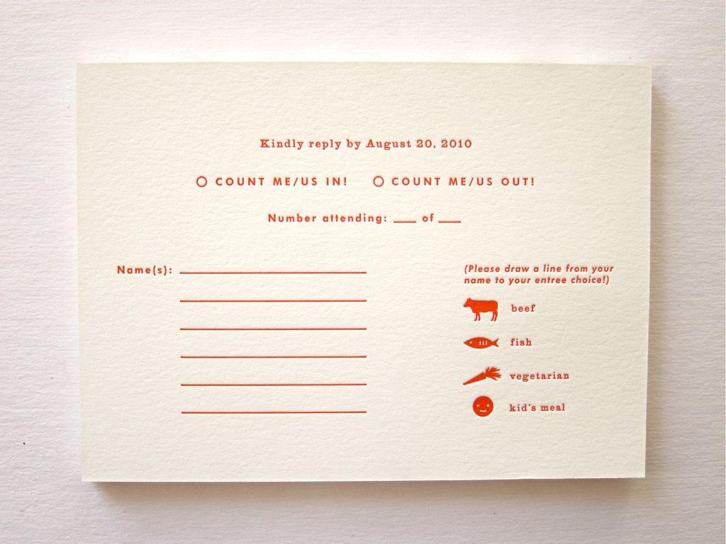 Wedding Invitation Rsvp with great invitation example