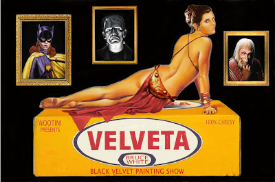   velveta   art show invite by brucewhite d30mijj Black Velvet Light Cycle, Street Legal Light Cycle