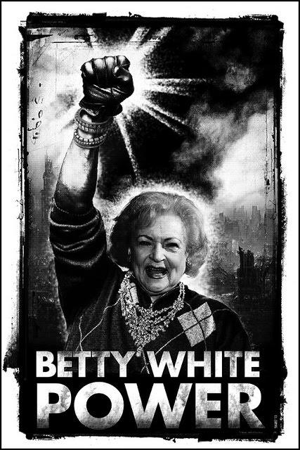 funny white power