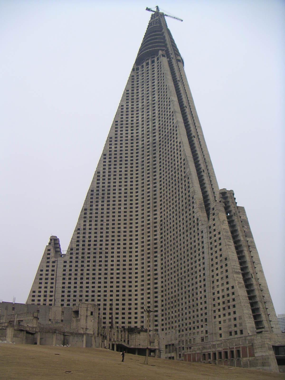 The Ryugyong Hotel, North Korea