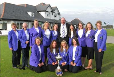 The 2007 Scottish Girls Home International Winning Team