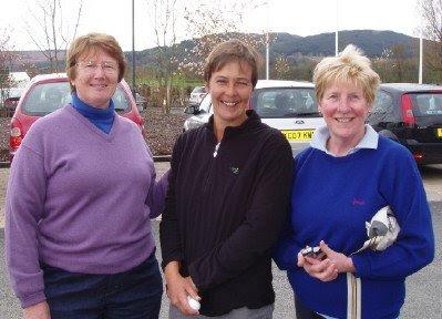 Jean Campbell, Lisa Hall and Lorna Craigie