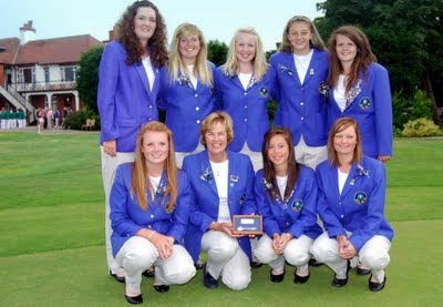 The 20009 Scottish Girls Team -- Click to enlarge