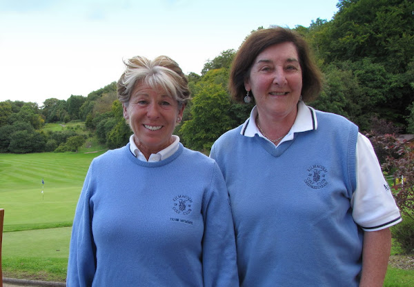 Anabel Kane and Rena Anderson - Kilmacom - Click to enlarge