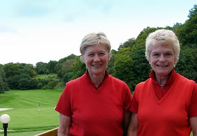 Helen Faulds and Helen Robertson - Douglas Park - Click to enlarge