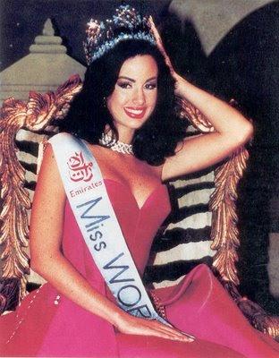 MISS WORLD HISTORY - Page 3 1995+Jacqueline+Maria+Aguilera+Marcano