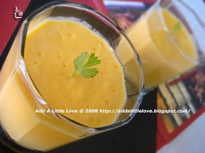 Simple and Delicious Mango Lassi