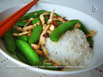 Sugar Snap Peas with Chicken
